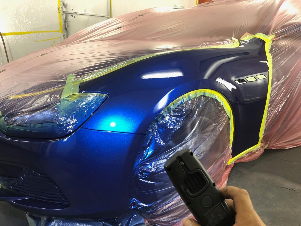 auto accident repair inspection