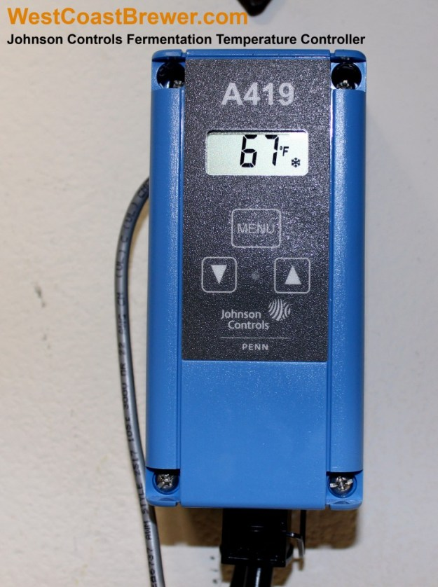 Johnson Controls Digital Fermentation Temperature Controller
