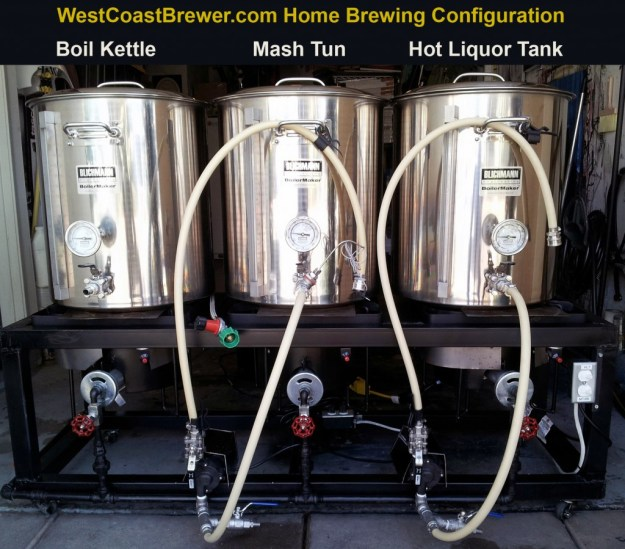 Home Brewing Hot Liquor Tank