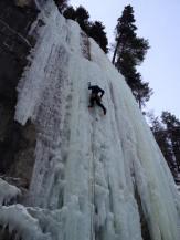 Ryan Larkin leading the Deeping Wall
