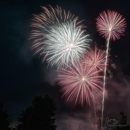 Fireworks on Salt Spring Island