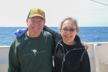 Team 'Bacteria': Bill Nilsson and Linda Rhodes. Photo Credit: Meghan Shea