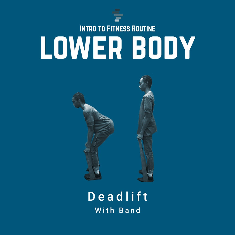 Deadlifts with Band