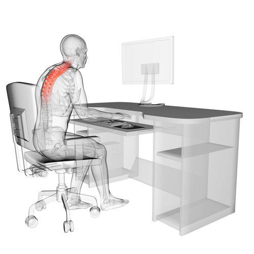 Bad Sitting Posture Thoracic Spine