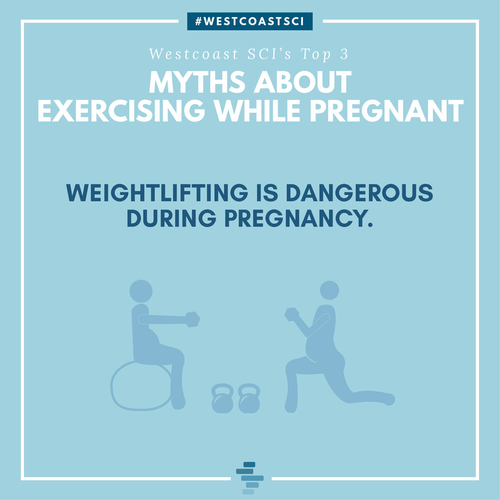 myth: weightlifting is dangerous during pregnancy