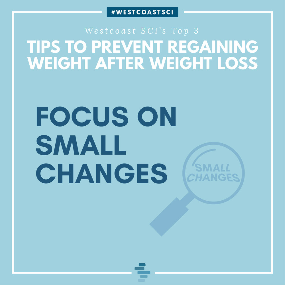 Focus on small changes