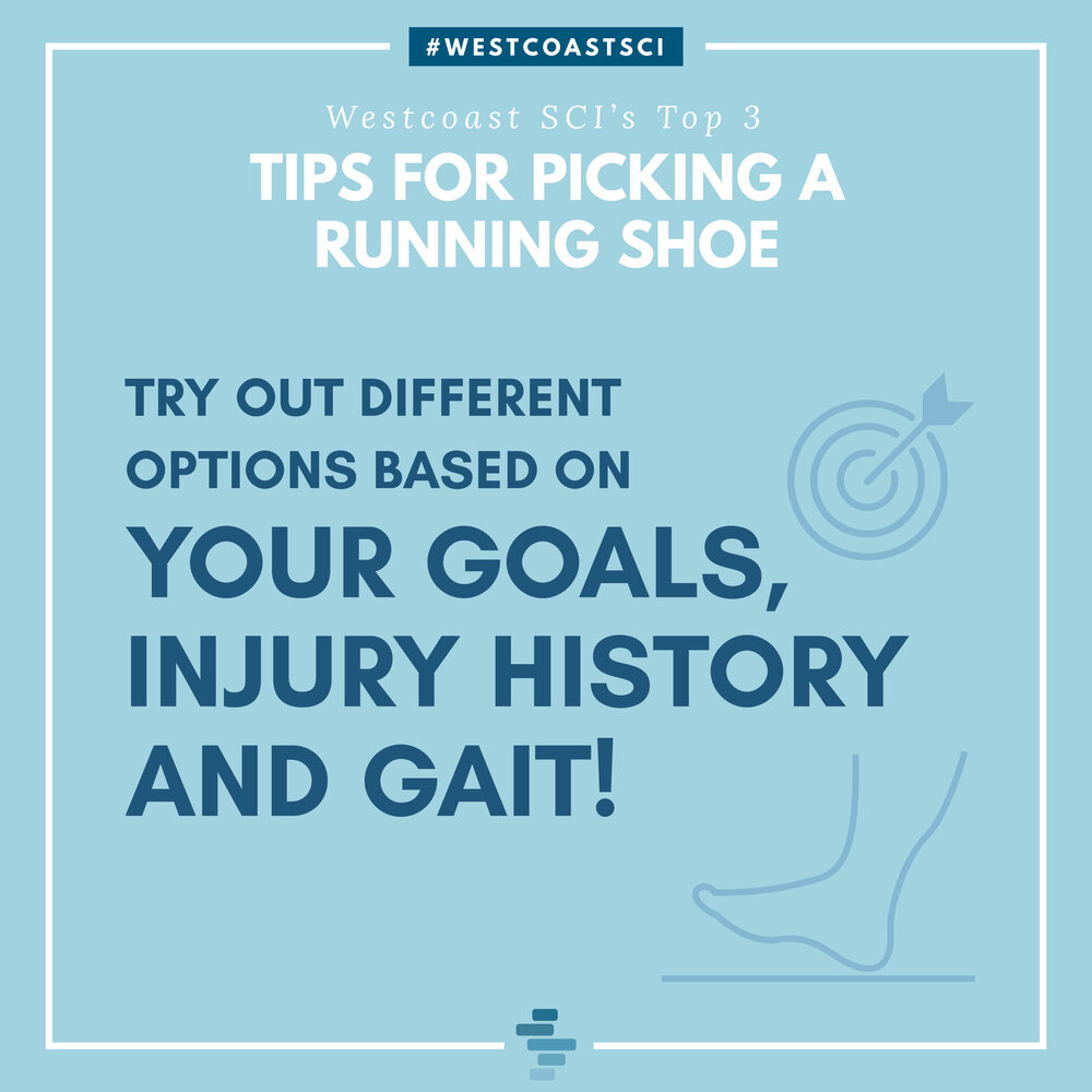 Try Different Options Based On Goals, Injury History and Gait