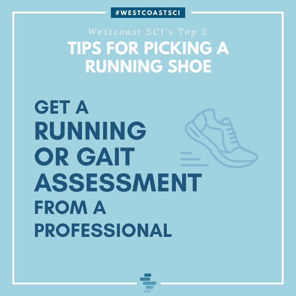 Get Running or Gait Assessment
