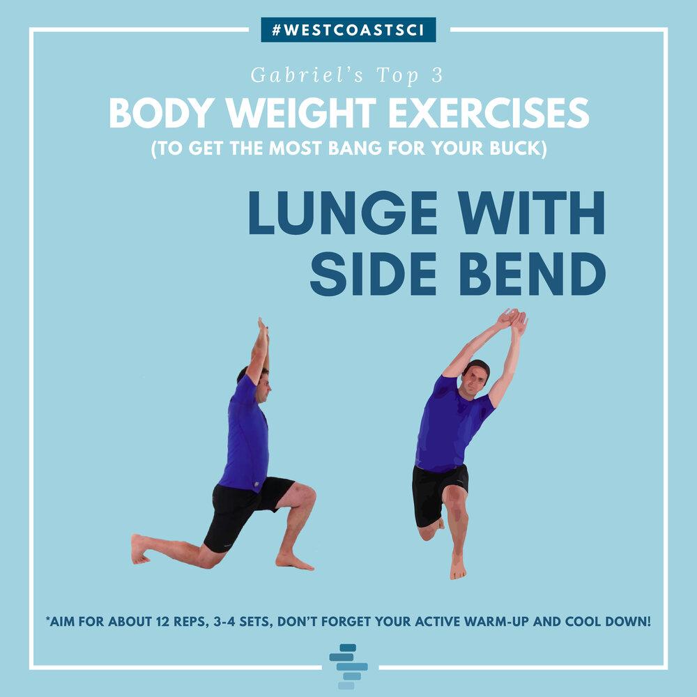 Lunge Side Bend