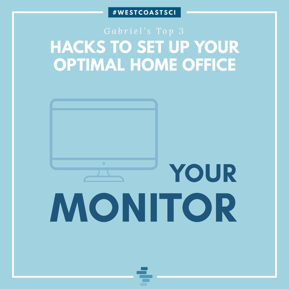 Optimal Monitor Setup