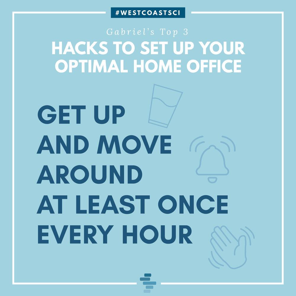 Move Around Every Hour