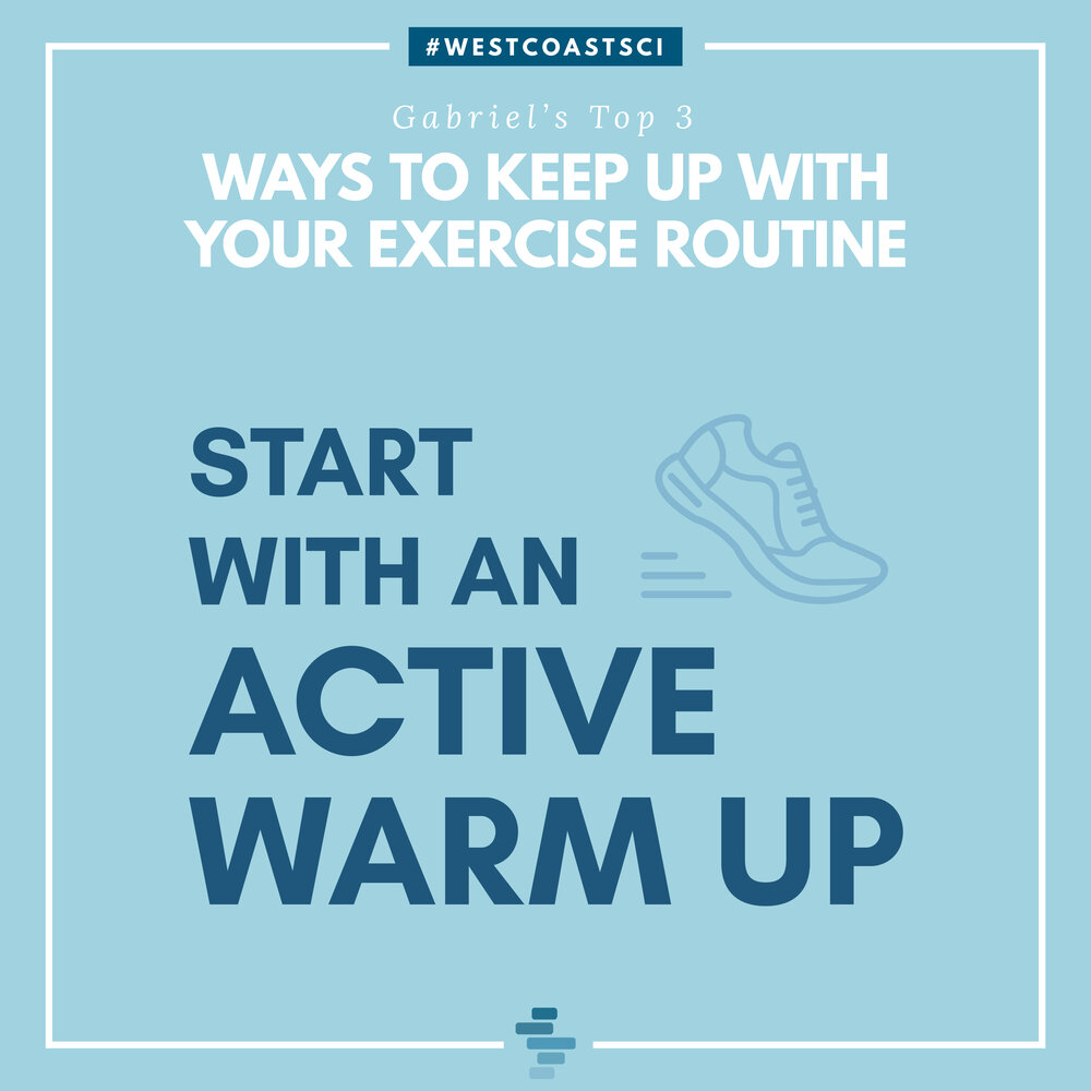Active Warm Up