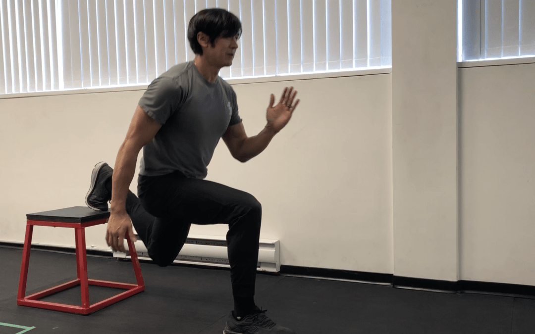 3 Box or Park Bench Exercises to Activate your Lower Body Muscles