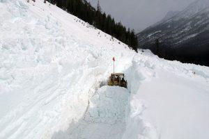 Snow in Washington Cascades