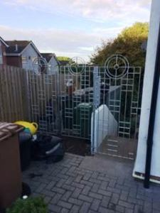 Rennie Mackintosh inspired Gate and Railing