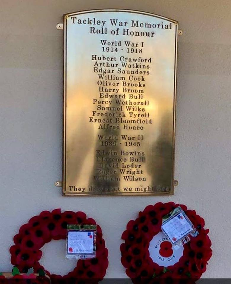 War memorial by West Country Blacksmiths