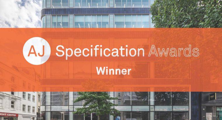 AJ Specification Awards 2019 logo