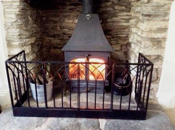 Decorative fireguard