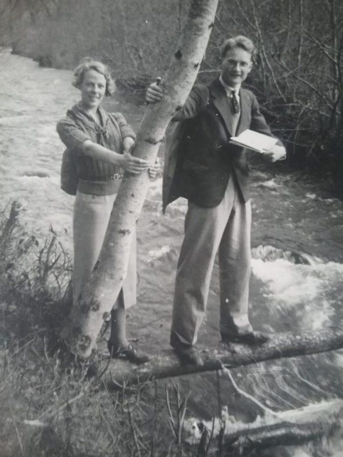 John and Freda on Quantocks