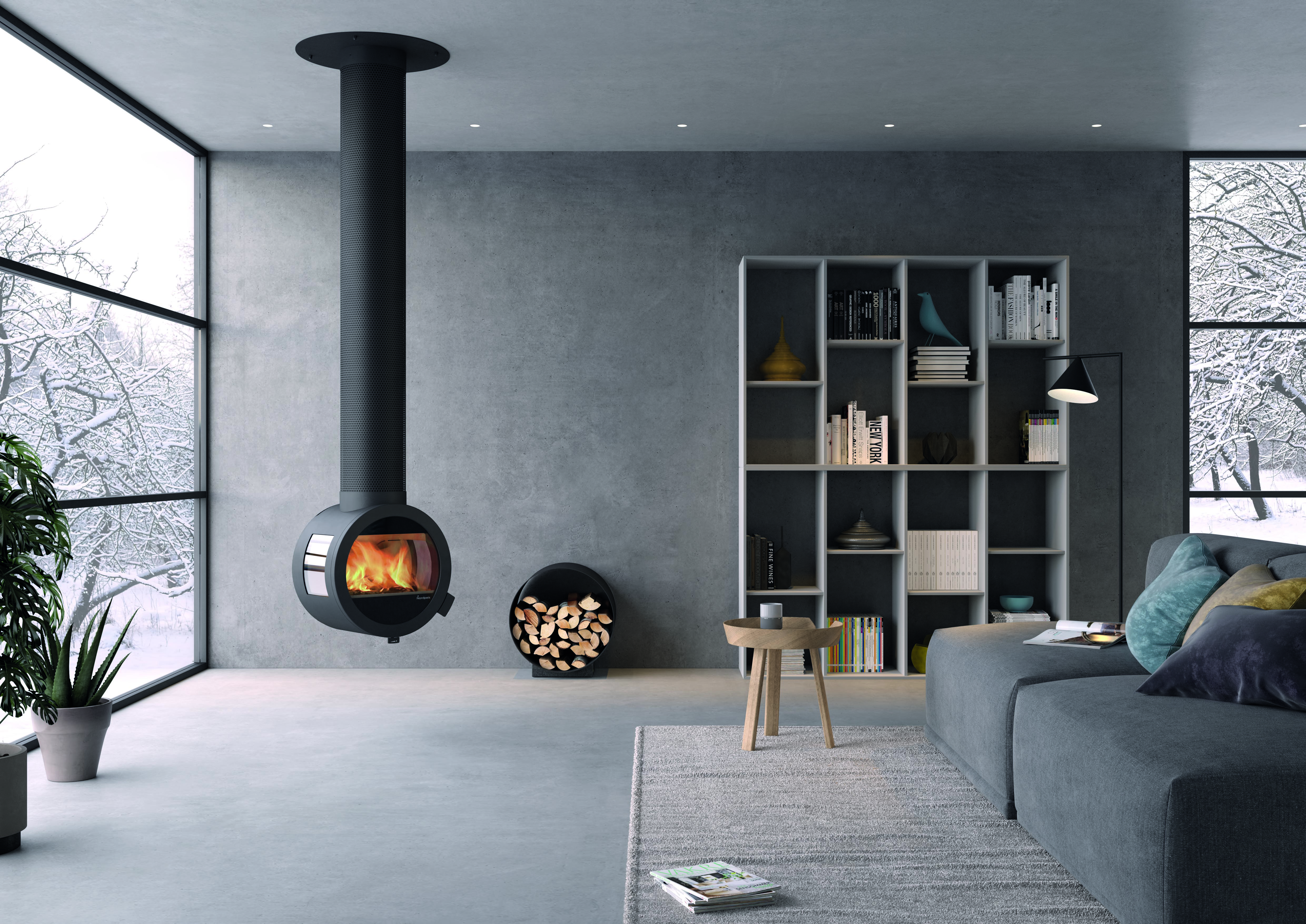 Nordpeis Me Wood Burner West Country Fires Southampton