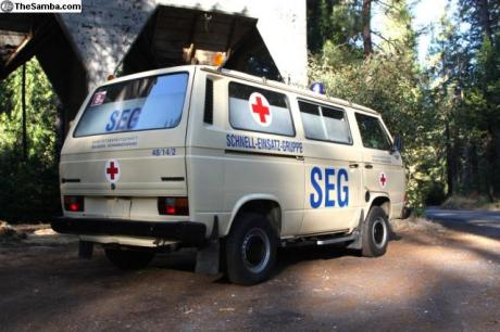 spotted german vw vanagon ambulance west county explorers club