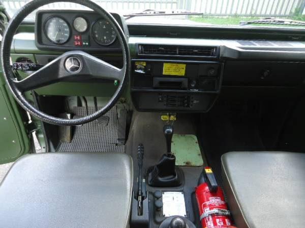 Mil-Spec G-Wagen 240GD, via WCXC