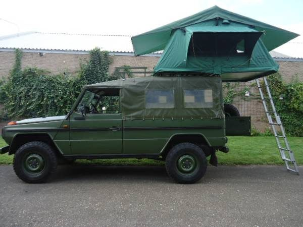 Mil-Spec G-Wagen 240GD, via WCXC