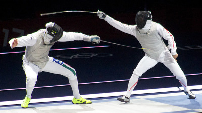 Olympic fencing - London 2012