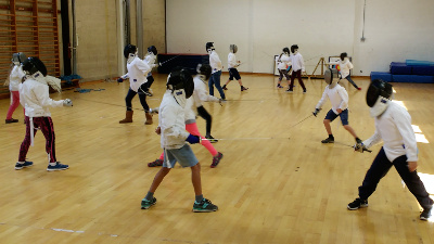 Fencing age groups