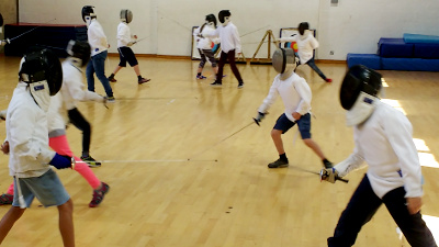 NEW! Fencing at Okehampton College - Autumn 2017