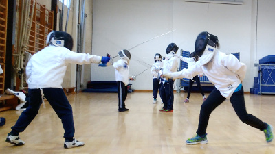 Fencing Camp: 18 August 2021