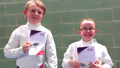 OCRA junior fencers make the grade