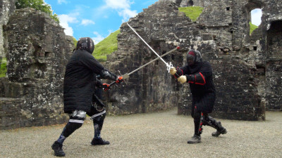 Image: Longsword at Okehampton Castle 19 May 2019