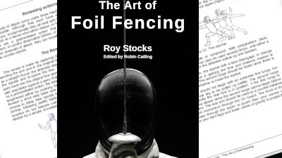 New cover design for The Art of Foil Fencing