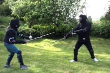 Catling Pritchard rapier fencing