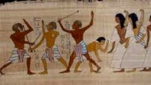 Egyptian stick fighting