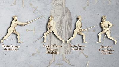 Fiore's longsword guards