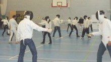 Fencing at Hardley School