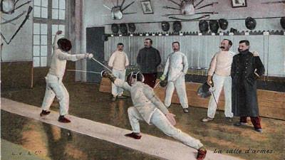 Fencing - an incomplete history