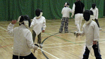 What age IS Junior in fencing?