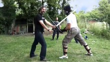Messengers class training longsword