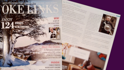 We're in Oke Links magazine