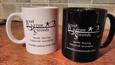 Not just mugs, these are West Devon Swords mugs