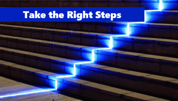 Related image: Take the Right Steps