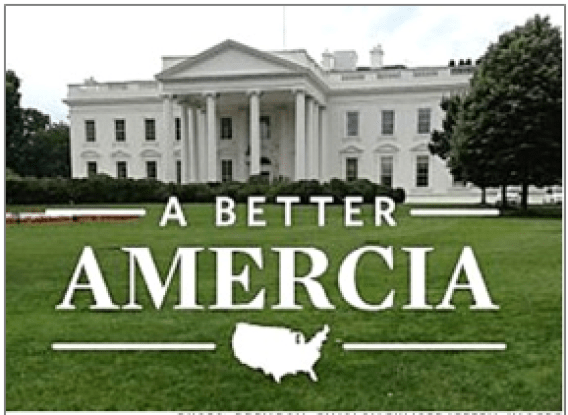 Copy and Content Mistake: A Better Amercia political ad ruins credibility
