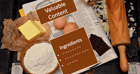 Valuable blog post ingredients