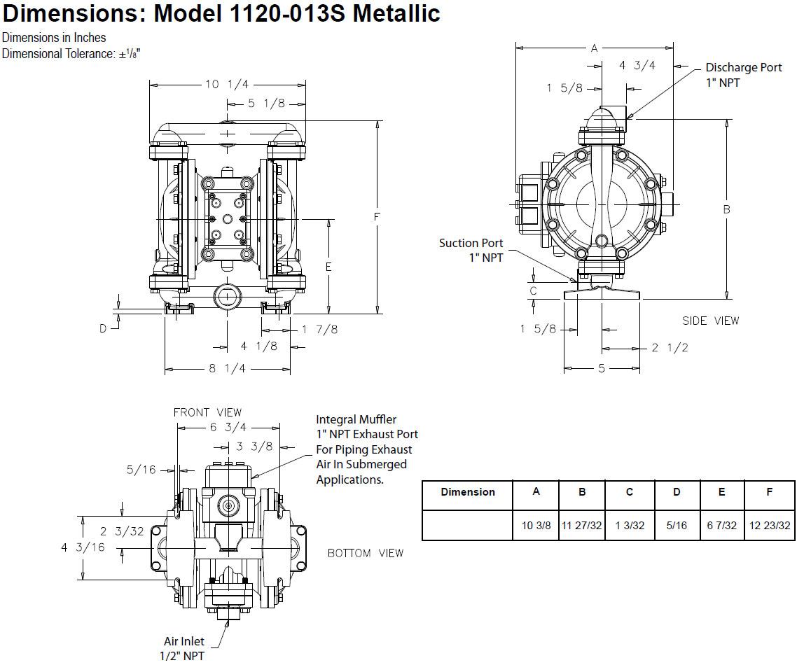 Balcrank 013s Conventional Aluminum Pump