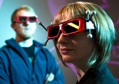 Photography for 3-D visualization center