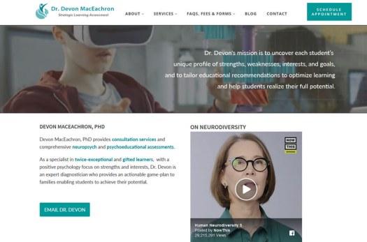 DrDevon.com Website