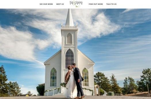Photography business website design
